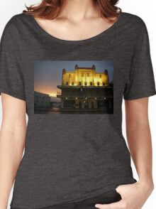 Evening Glow ~ Innisfail Shire Hall Women's Relaxed Fit T-Shirt