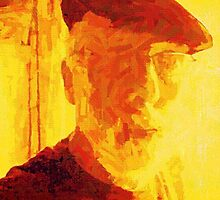 SELF PORTRAIT OF THE ARTIST AS AN OLD GUY. by Terry Collett