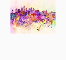 New York skyline in watercolor background Unisex T-Shirt