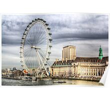 The London Eye Poster