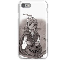 Halloween vampire iPhone Case/Skin
