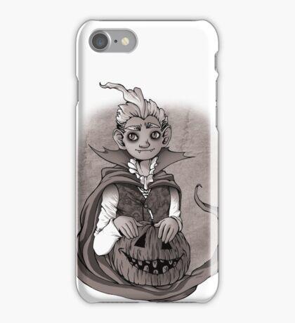 Halloween vampire iPhone Case/Skin