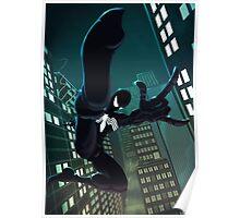 Spider - Black suit Poster