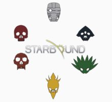 Starbound: Race Emblems by sirvarley