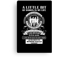 TVD Fan Song Canvas Print
