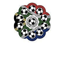 South African Football Flower Photographic Print