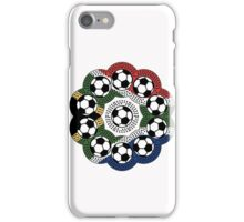 South African Football Flower iPhone Case/Skin
