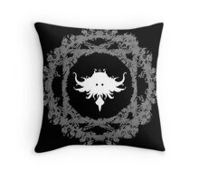 Obscure trame Throw Pillow