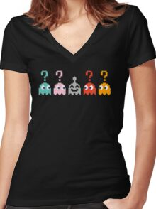 Who's this? Women's Fitted V-Neck T-Shirt