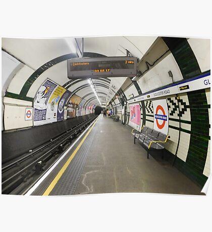 Gloucester Road Underground Poster