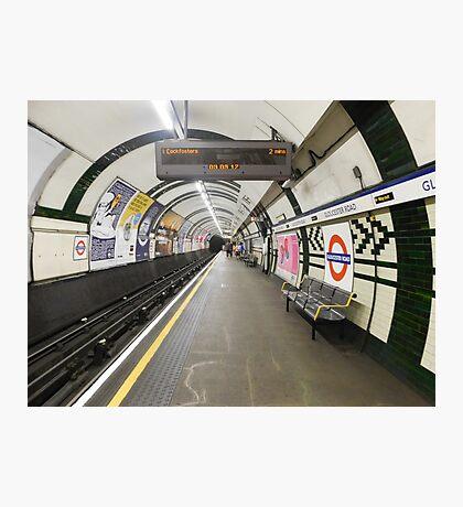 Gloucester Road Underground Photographic Print