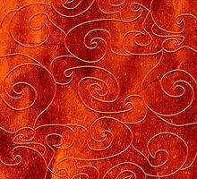Red swirls by TatiPatti