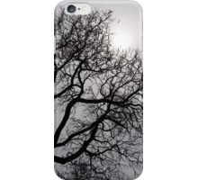 Pearly Silver Sky Filigree iPhone Case/Skin