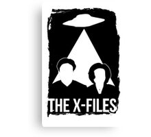 X FILES TRANSPARENT Canvas Print