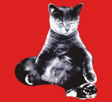Big Fat Cat One Piece - Long Sleeve