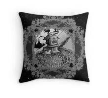 House space Throw Pillow