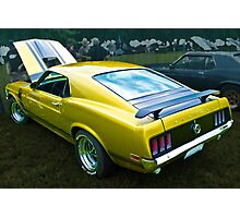 Mustang Boss 302 Photographic Print