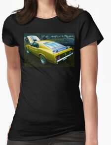 Mustang Boss 302 Womens Fitted T-Shirt
