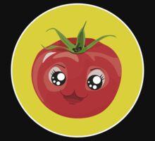 Kawaii red Single tomato One Piece - Short Sleeve