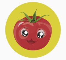 Kawaii red Single tomato Baby Tee
