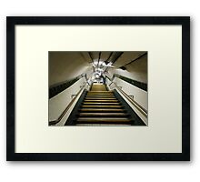 Out of the Underground Framed Print