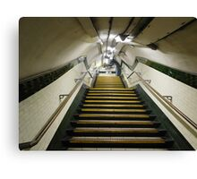 Out of the Underground Canvas Print