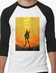 The world needs heroes Men's Baseball ¾ T-Shirt