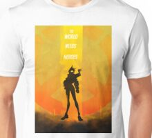 The world needs heroes Unisex T-Shirt