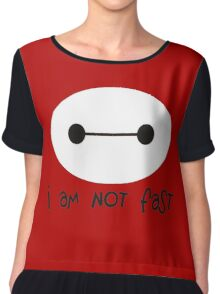 Big Hero 6, I am not fast Chiffon Top