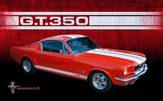 GT 350 Mustang by Stuart Row