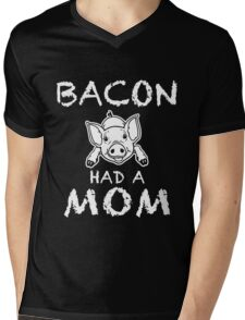 Funny Unique Bacon Have A Non T-Shirt Best Gifts For Health Conscious Men And Women Mens V-Neck T-Shirt