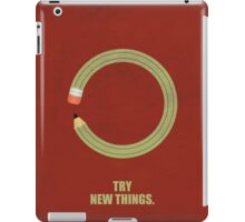 Try New Things Corporate Start-Up Quotes iPad Case/Skin