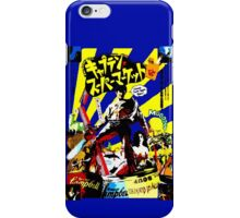 Trapped in time. Surrounded by evil. Low on gas. iPhone Case/Skin