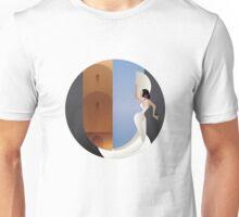 Art Deco styled Spain Flamenco dancer Unisex T-Shirt