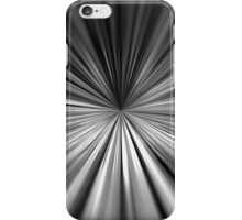 Dynamic converging lines  iPhone Case/Skin