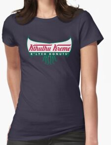R'lyeh Donuts Womens Fitted T-Shirt