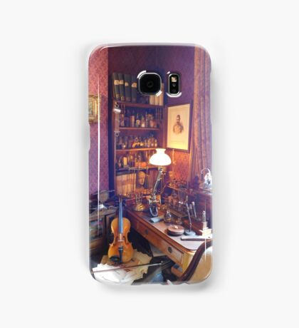 221B Baker Street Details Samsung Galaxy Case/Skin