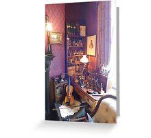 221B Baker Street Details Greeting Card