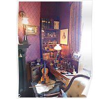 221B Baker Street Details Poster
