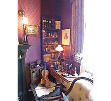 221B Baker Street Details Photographic Print
