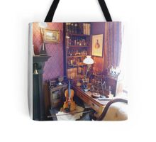 221B Baker Street Details Tote Bag