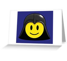 Darth Smiley (only) Greeting Card