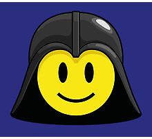 Darth Smiley (only) Photographic Print