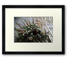 Uplifting Bouquet of Spring Flowers Framed Print