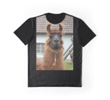Llama Cell Phone Case - Sticker Graphic T-Shirt