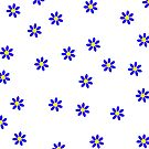 Blue Daisy by Catherine Hamilton-Veal  ©