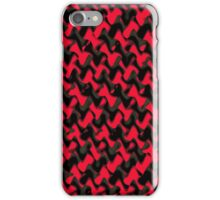 Bows in Black and Red iPhone Case/Skin