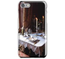 Table for two in Baker Street iPhone Case/Skin