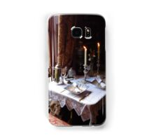 Table for two in Baker Street Samsung Galaxy Case/Skin