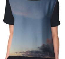 Sunset Sky Chiffon Top